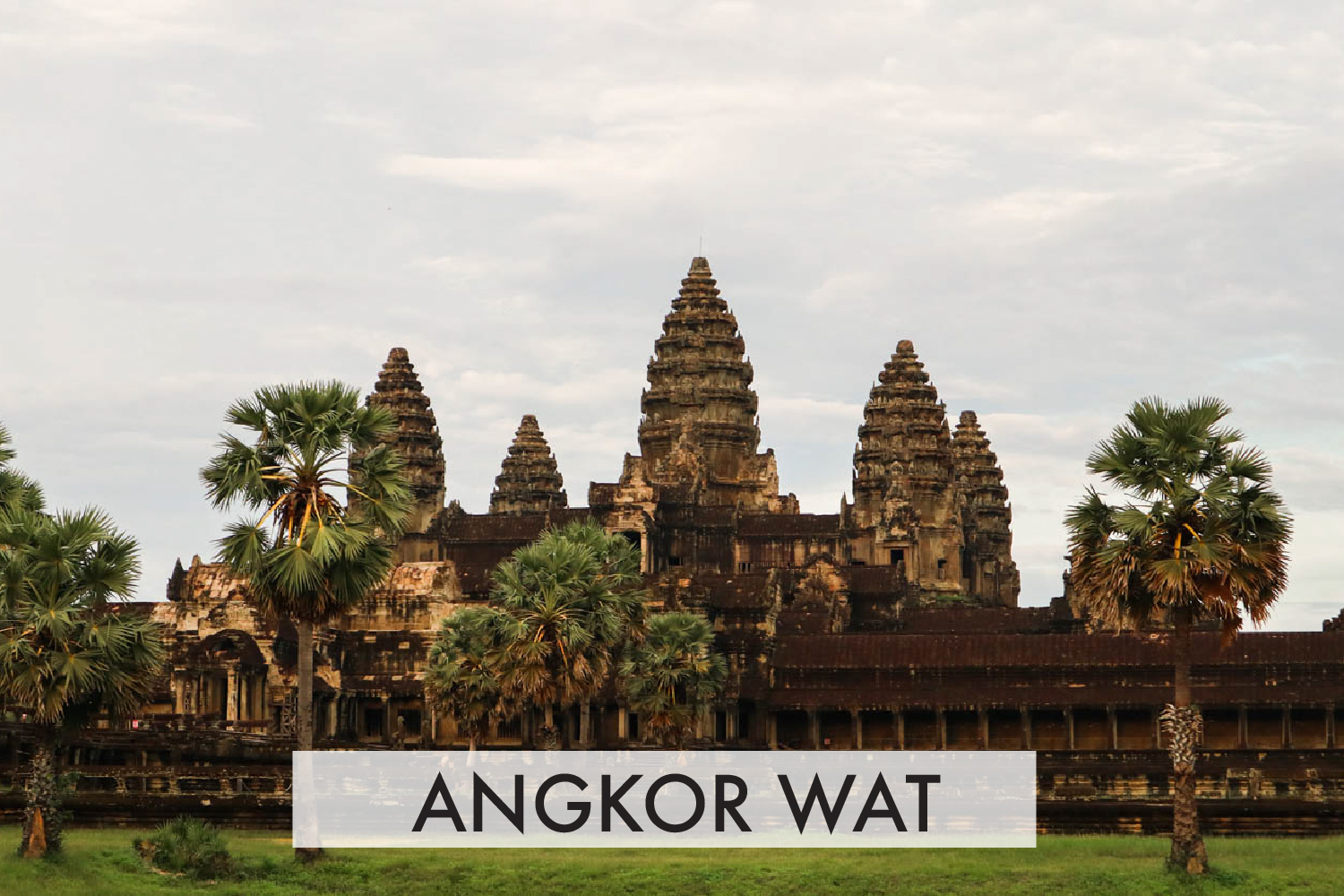 Backpacking ke Angkor Wat, Cambodia