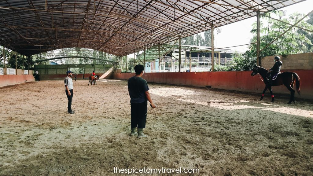 Indoor arena Pamulang Equestrian Centre
